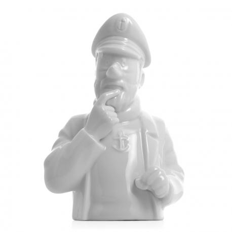 Captain Haddock bust – gloss 15cm