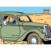 Calendário secretária Tintin 2020