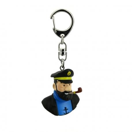 Porta-chaves busto Haddock