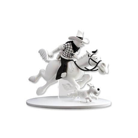 Tintin Cowboy e Milou
