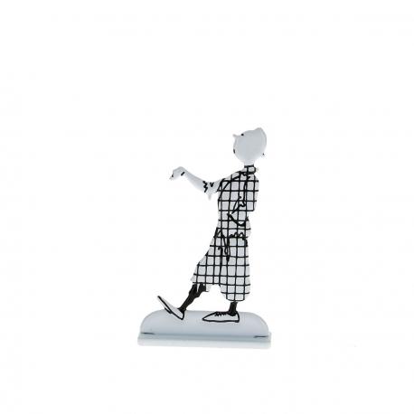 Tintin em pose