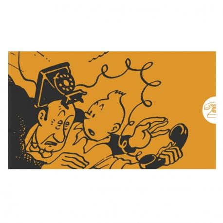 Agenda telefónica Tintin