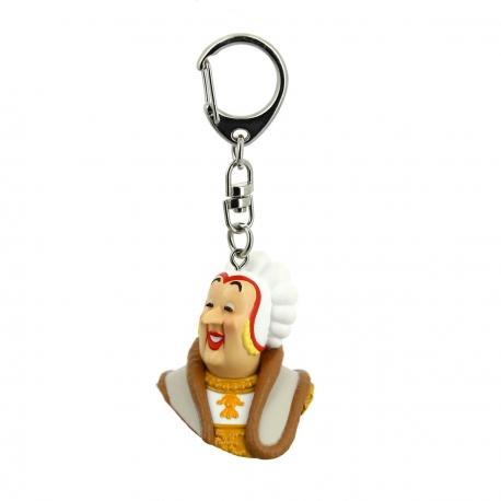 Porta-chaves busto Castafiore