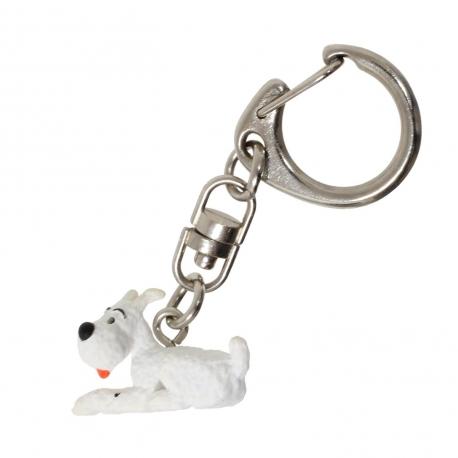 Porta-chaves Milou Deitado (3cm)