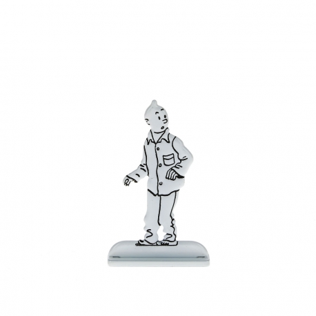 Tintin em pijama