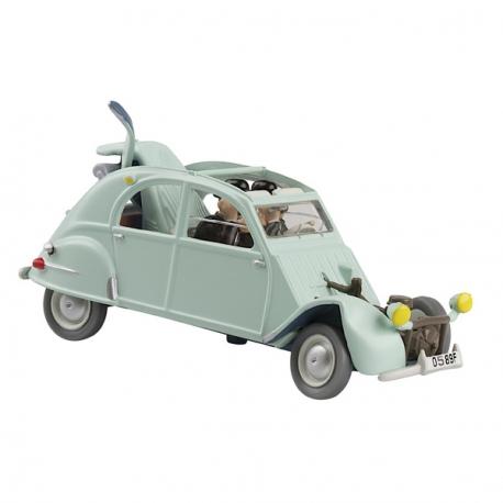 Citroën 2 CV sinistrado