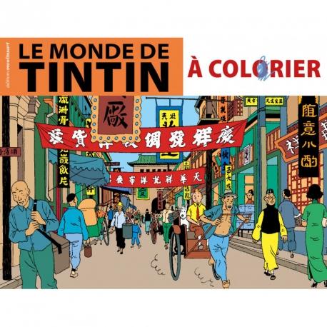 ALBUM DE COLORIR - LE MONDE DE TINTIN (FR)