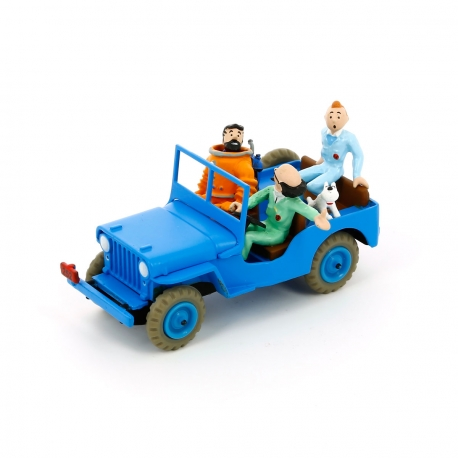 Jeep azul