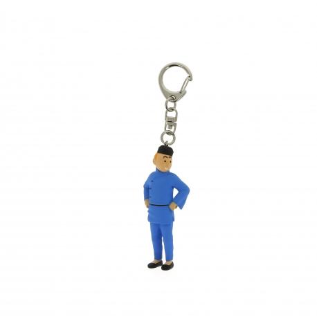 Porta-chaves Tintin Lotus (6cm)