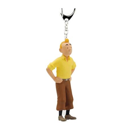 Porta-chaves Tintin caranguejo (6cm)
