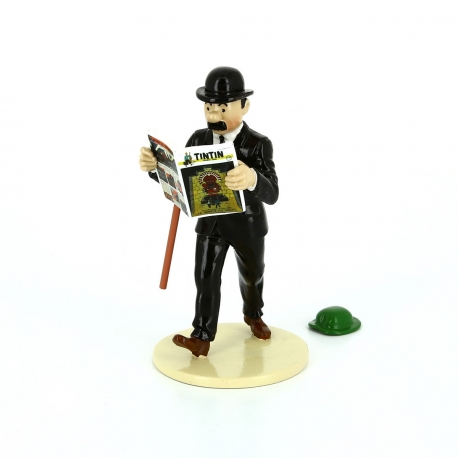 Thompson reading Tintin