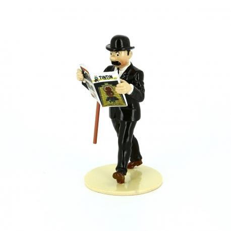 Dupont lê Tintin