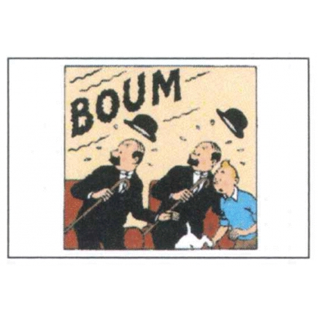 Double Card TINTIN Thompson BOUM