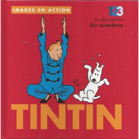 Tintin, images en action - Je découvre les nombres (FR)