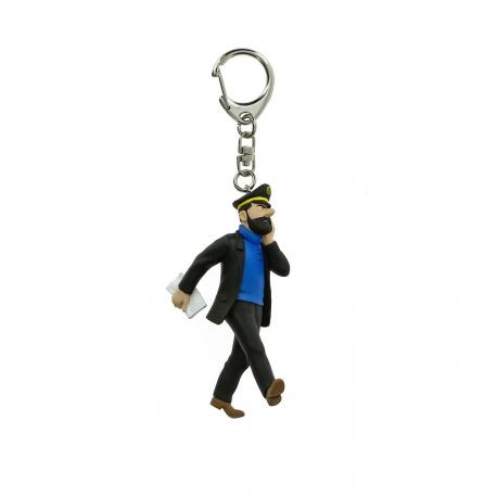 Porta-chaves Haddock Jornal (10cm)