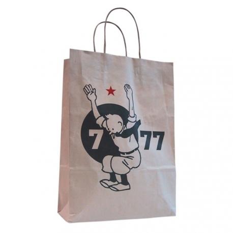 Saco Papel Reciclado kraft Tintin 7 - 77