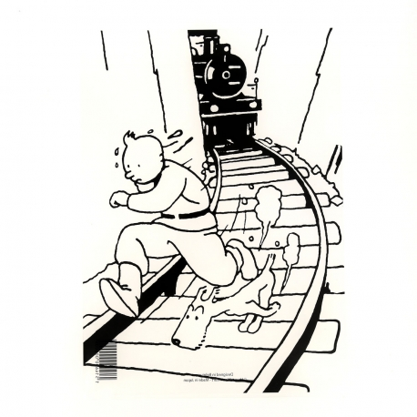 Capa plástica A4 Tintin Soviets