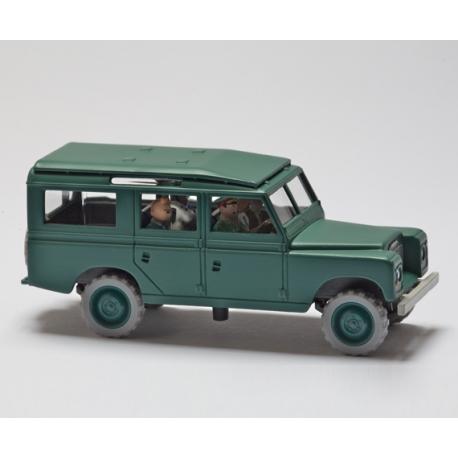 """Le Land Rover de Tapioca - """"Tintin et les Picaros"""" (1976)"""