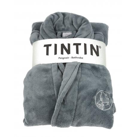 Tintin bathrobe - Grey Steel