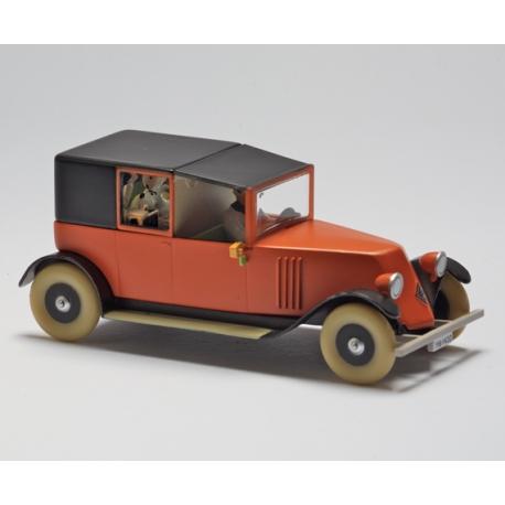 "Red taxi - ""Le Crabe aux pinces d'or"" (1981)"