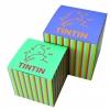 Caixa Tintin cartão