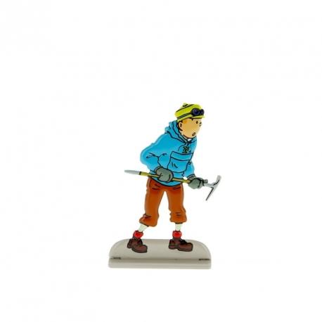 2-Tintin com picareta Tibete