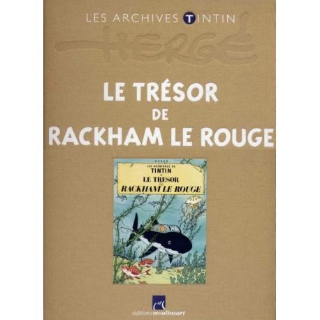 Les archives Tintin: Le Trésor de Rackham Le Rouge