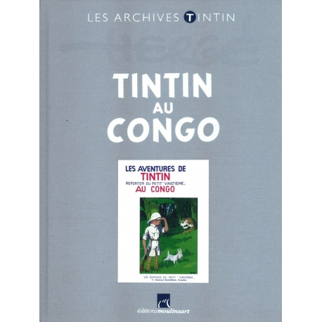 Les archives Tintin - Tintin au Congo N/B