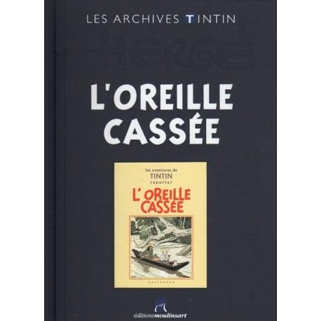 Les archives Tintin - L´OREILLE CASSÉE N/B