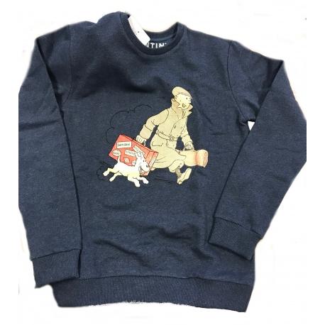 Sweatshirt TINTIN & MILOU VALISE