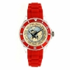 Tintin Plain Watch - Red Bracelet