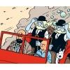 """La Jeep rouge - """"Tintin au pays de l'or noir"""" (1950)"""
