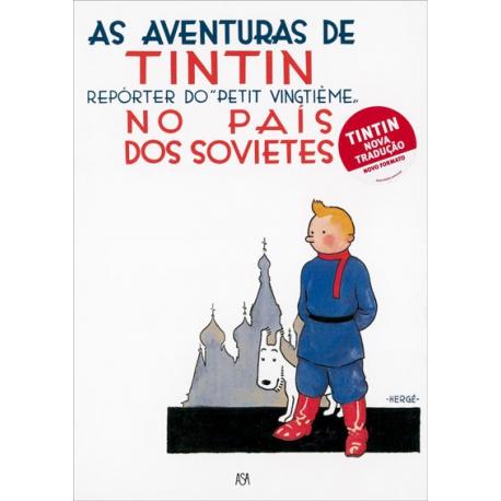 """""""Tintin no país dos Sovietes"""" - Volume 1"""