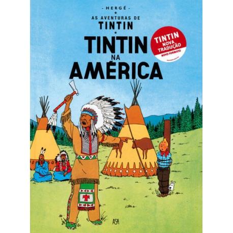 """""""Tintin na América"""" - Volume 3"""