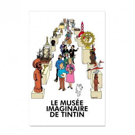le musée imaginaire de Tintin poster