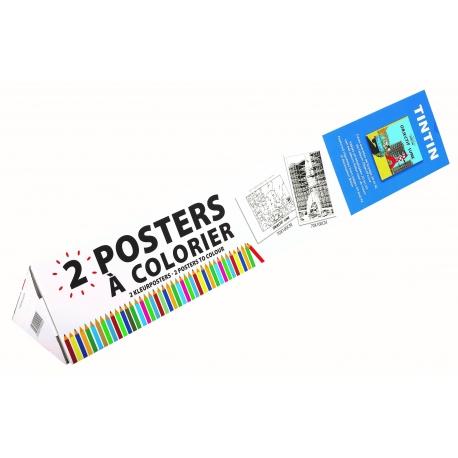 Posters para colorir - Objectivo Lua (2x)