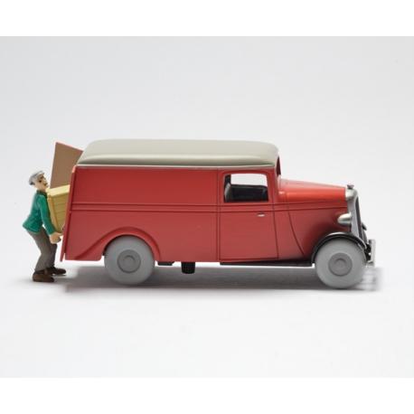 """Le camion des kidnappeurs - """"Le Secret de La Licorne"""" (1946)"""