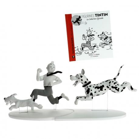 Tintin, Milou et le danois