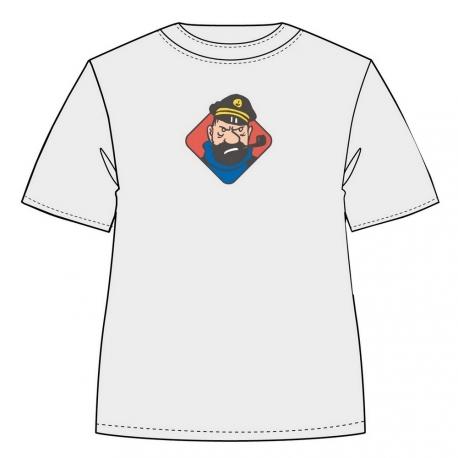 T-shirt Haddock Insultos