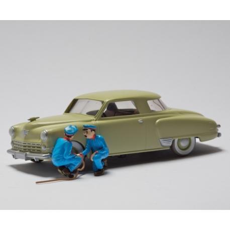 """La Studebaker - """"Tintin au pays de l'or noir"""" (1950)"""