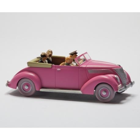 """Le cabriolet des Dupondt - """"Le Sceptre d'Ottokar"""" (1947)"""