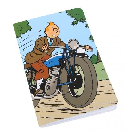 Tintin & Moto notebook