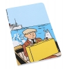 Caderno de notas - Tintin & Milou barco
