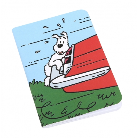 Caderno de notas - Milou carro