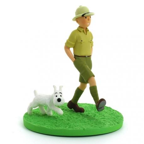 Tintin Explorador - Cena 1