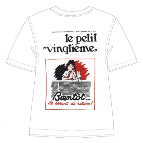 """T-shirt: Le Petit Vingtième """"Bientôt"""""""
