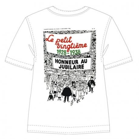 """T-shirt: Le Petit Vingtième """"1928-1938"""""""