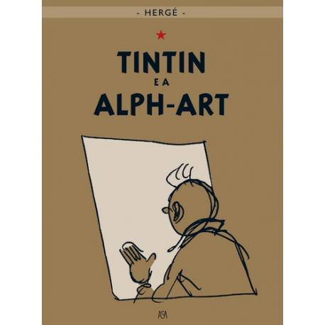 """Tintin e a Alph-Art"" - Volume 24"