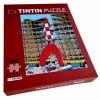 Tintin puzzle, Moon Rocket + poster 50x66,5cm