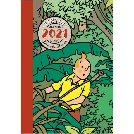 Tintin 2021 pocket agenda (15x10 cm)